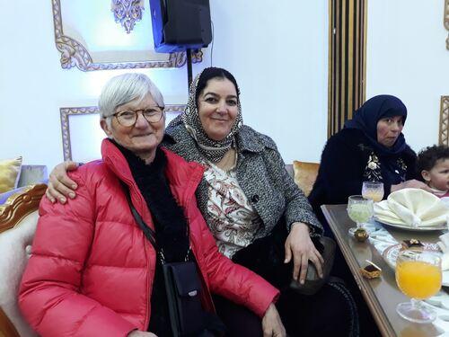 Avec Amina