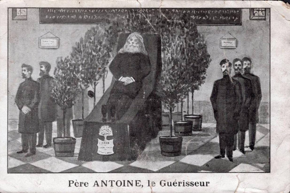 Père ANTOINE, le Guérisseur (carte postale)