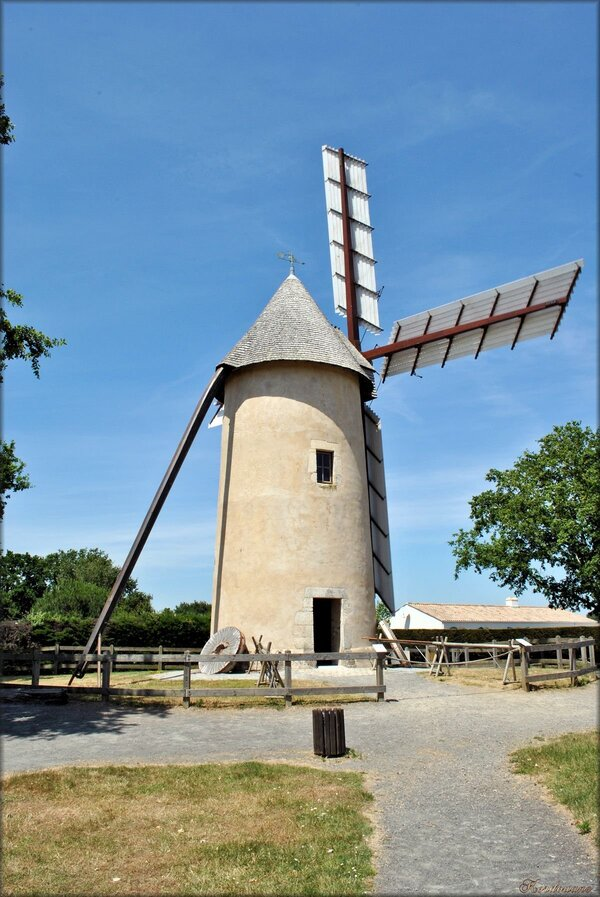 Photo du moulin se Saint-Révérend en Vendée