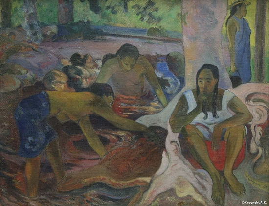 Paul Gauguin, Pêcheuses Tahitiennes