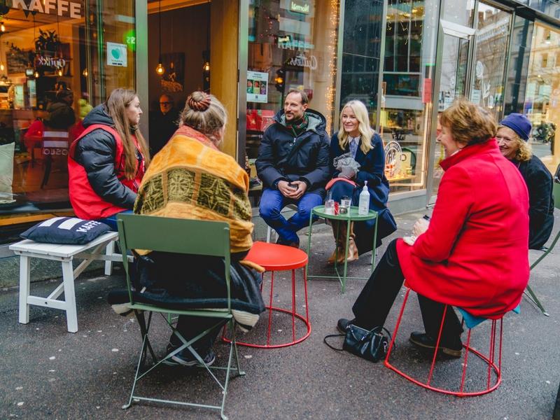 Adventsbesøk til gatemiljøet
