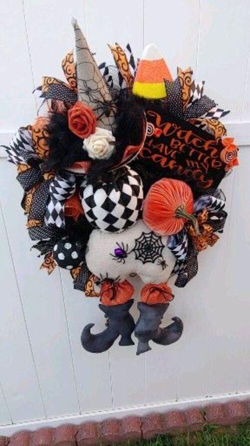 Déco automne +halloween