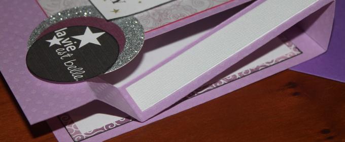 Scrap / Carte anniversaire