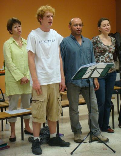 52 - 19/06/2008 - les deux chorales réunies ( suite 1 ) -