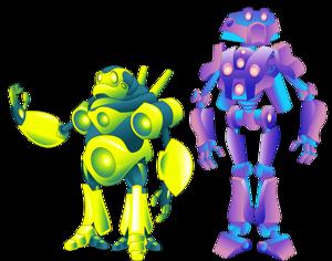 Robots bibiiiii no:2