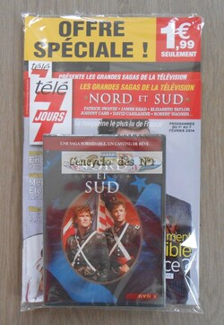 N° 1 Collection DVD Nord et Sud - Lancement