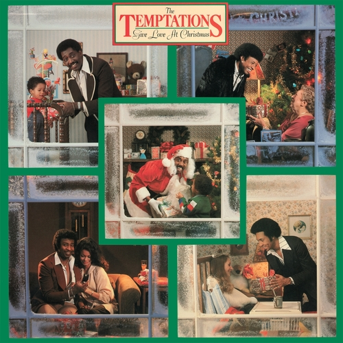 """The Temptations : Album """" Give Love At Christmas """" Gordy Records G8-998M1 [ US ]"""