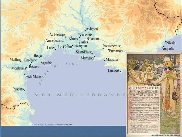 Dominique Garcia a présenté, pour la SAHC, une passionnante  conférence sur la Celtique Méditerranéenne et les sites princiers (Vix et Lavau)