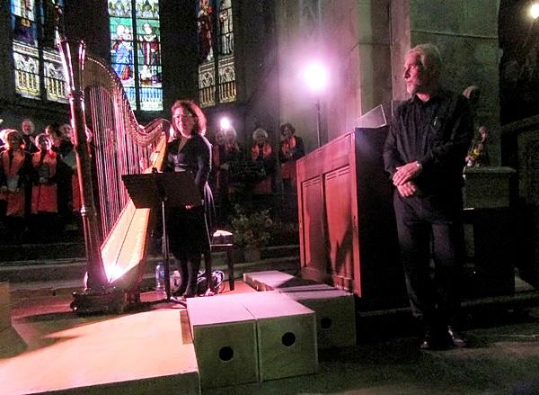 Les Maitres Passeurs en concert dans l'église Saint-Nicolas, ont enchanté les mélomanes venus très nombreux