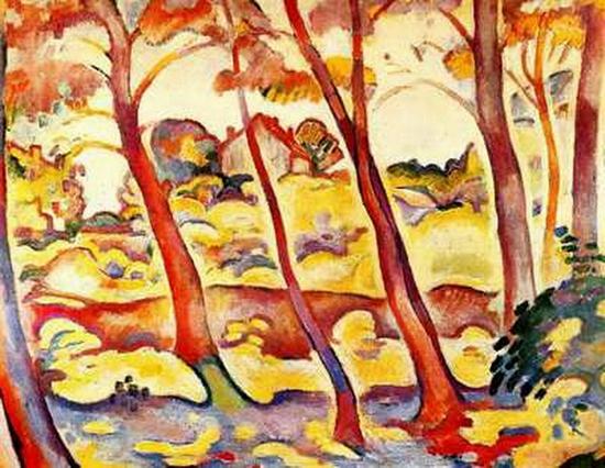 Georges Braque,  Paysage de la Ciotat