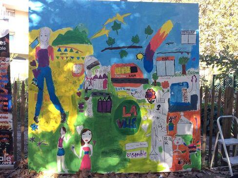 """""""Partage et Convivialité"""" dans le quartier, c'était samedi 8 octobre 2016 11h-17h à Encagnane."""