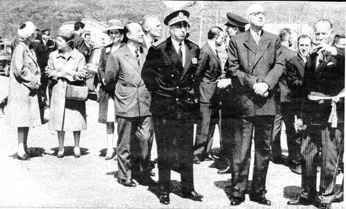 Le président et madame Charles de Gaulle à Calais en 1966