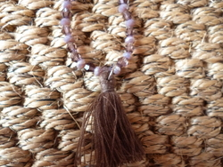 Tutoriel collier pompon