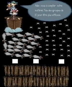 Ateliers des pirates - dénombrer