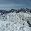 Du sommet de las Arroyeras, Punta Escarra et Pala de Ip
