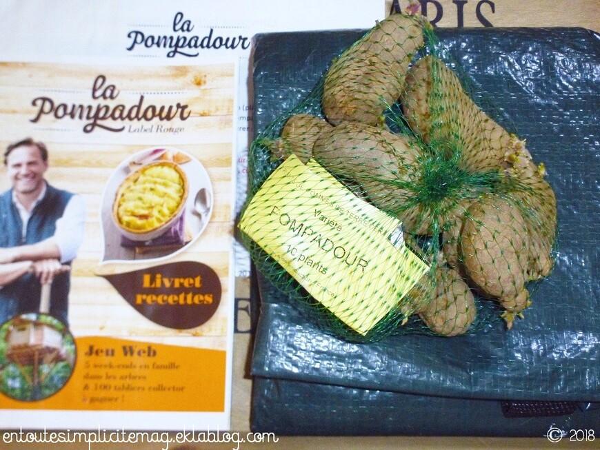Les pommes de terre Pompadour