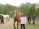 Equitation à Pâques