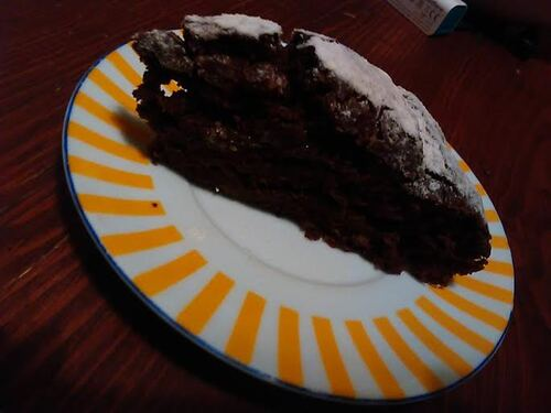 Gâteau au chocolat simplissime {Vegan}