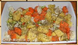 Mélange de Légumes Rôtis au Four