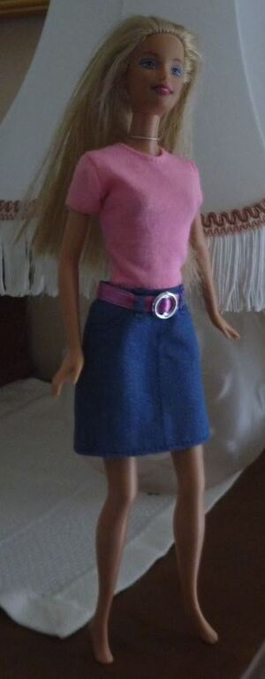 Un nouvel encours Barbie crochet