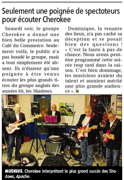 Concert de Beaune-La-Rolande le 15/12/2012  (Loiret)
