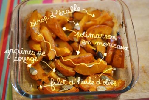 Idée de recette avec du potimarron : le gratin au sirop d'érable