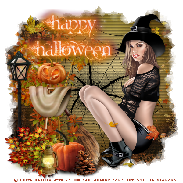 "Tutoriel ""Happy Halloween"" de Sandygraph chez Delire2scrap"