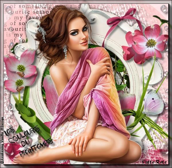 Défi de Pink chez Douce Magie Créative !