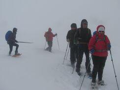 8 mars 2016 - En raquettes vers le But de Neve