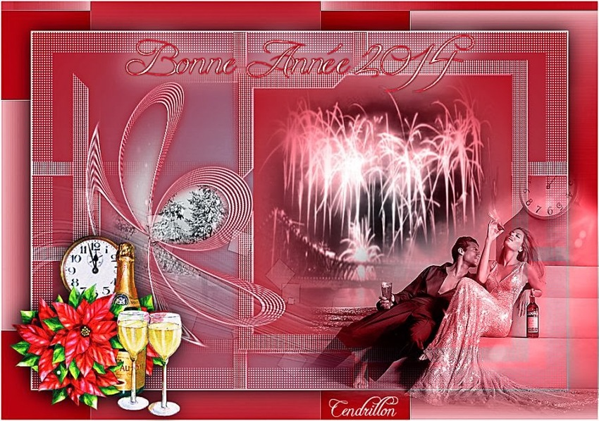 Bonne Année 2014 - Creation Jeannine