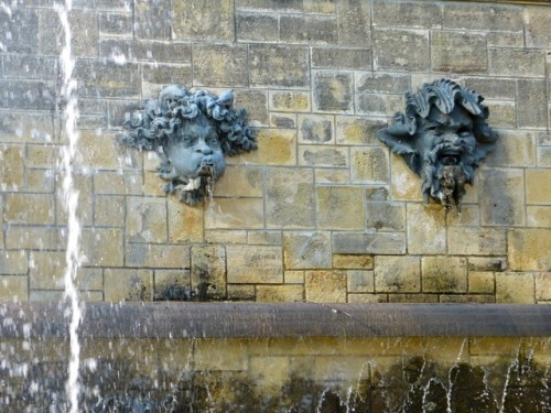 Sceaux mascaron fontaine Rodin 90806