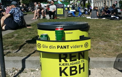 Les poubelles de Copenhague