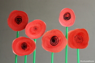 Remembrance Day poppy craft for kids