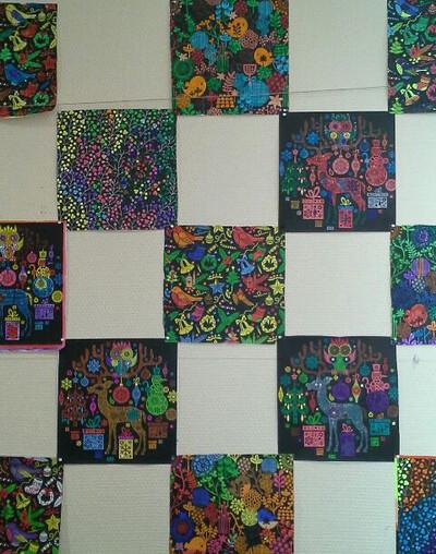 CP / De la couleur à la porte de la classe !