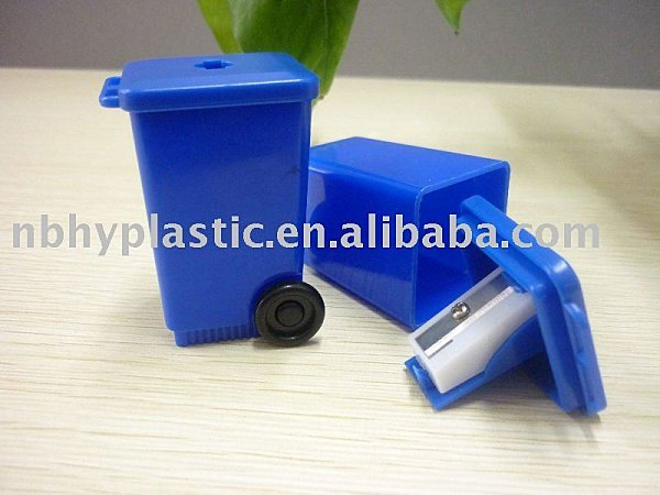 Poubelle - Supply mini trash can pencil sharpener