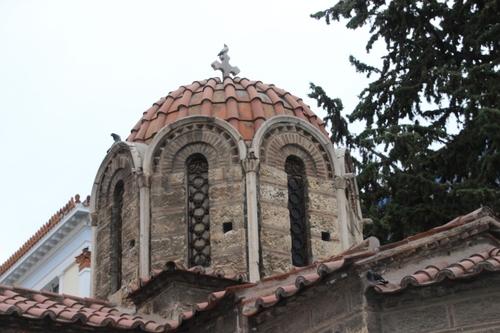 Les églises byzantines d'Athènes