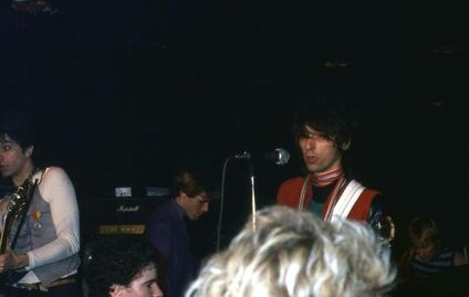New York New York - Chapitre 6 : Johnny Thunders and the Heartbreakers - Max's Kansas City - 28 avril 1979