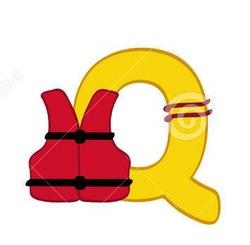 Alphabet de la mer : le Q.
