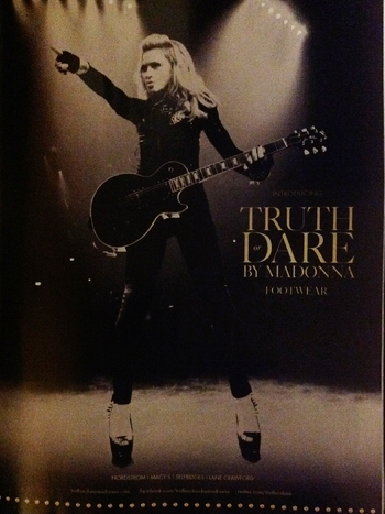 Truth Or Dare by Madonna - Introducing Footwear Collection
