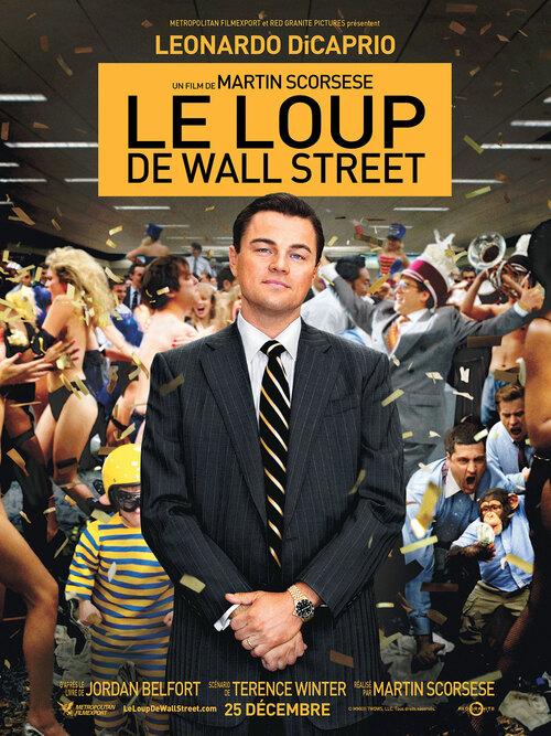 Film : LE LOUP DE WALL STREET.
