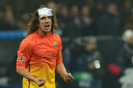 Carles Puyol pansement
