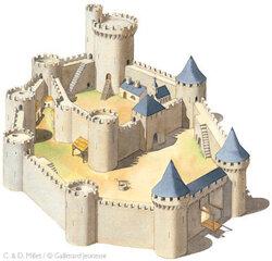 Qu'est-ce qu'un château fort ?