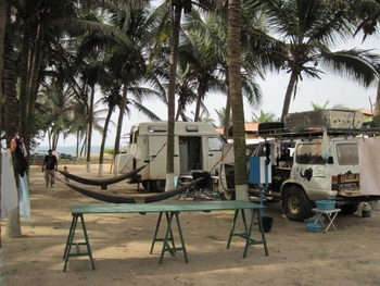 Togo Lomé Camping 1