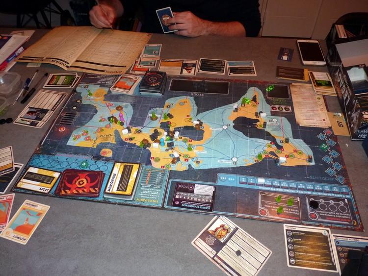 Pandémie Legacy (octobre)