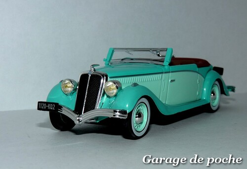 Salmson S4E cabriolet 1938