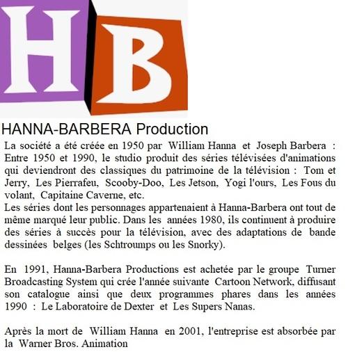 Nostalgiques ? 70's - Hanna Barbera