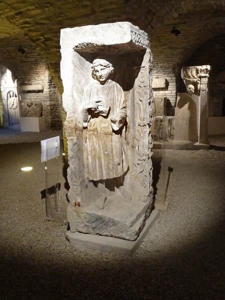 Le musée archéologique de Dijon