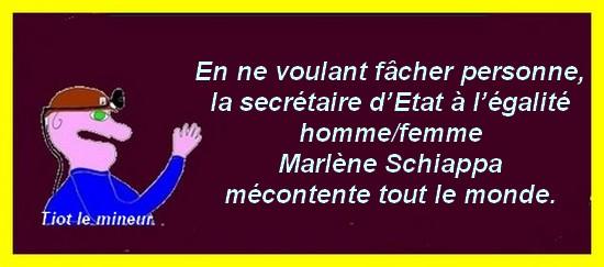 Marlène Schiappa mécontente tout le monde.