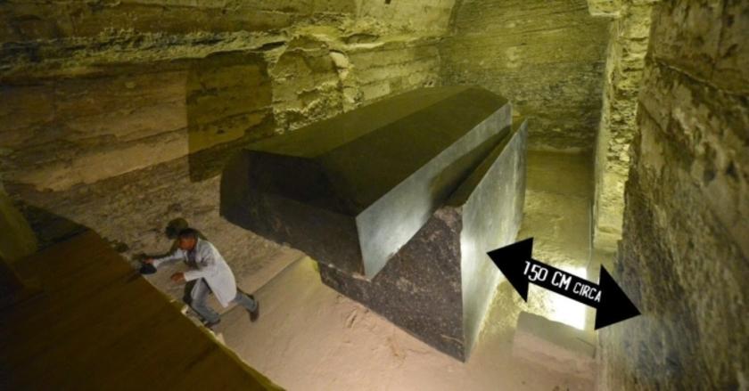 Égypte... Découverte de mystérieuse « boites noires »