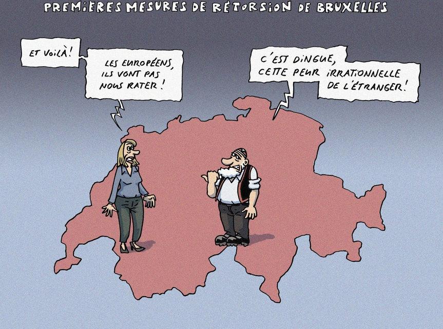 Herrmann - Premières mesures de rétorsion de Bruxelles